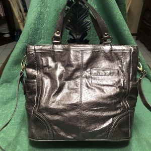 The Sak Pewter Leather Bag